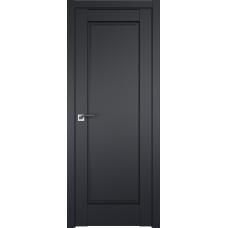 Дверь 100U Черный матовый