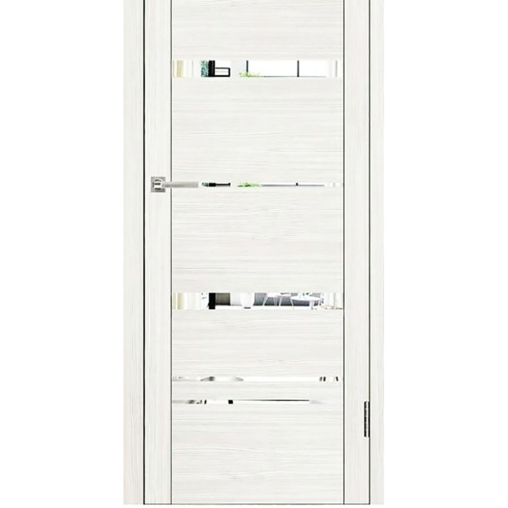 Дверь UniLine 30027 Велюр белый