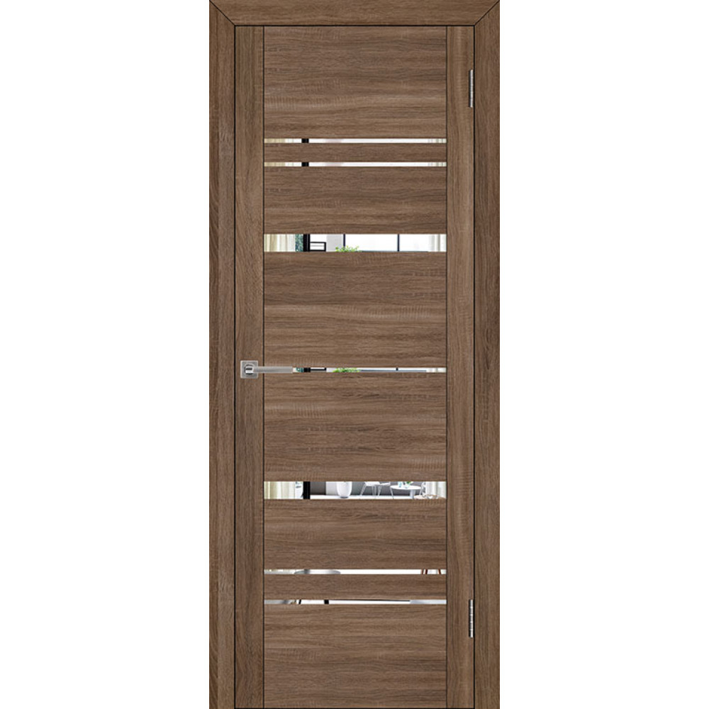 Дверь UniLine 30027 Велюр серый
