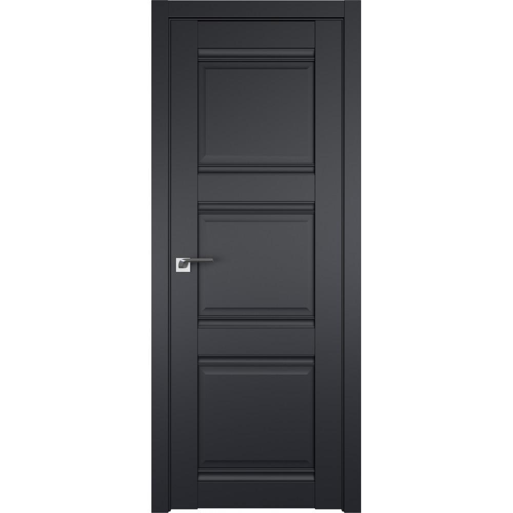 Дверь 3U Черный матовый