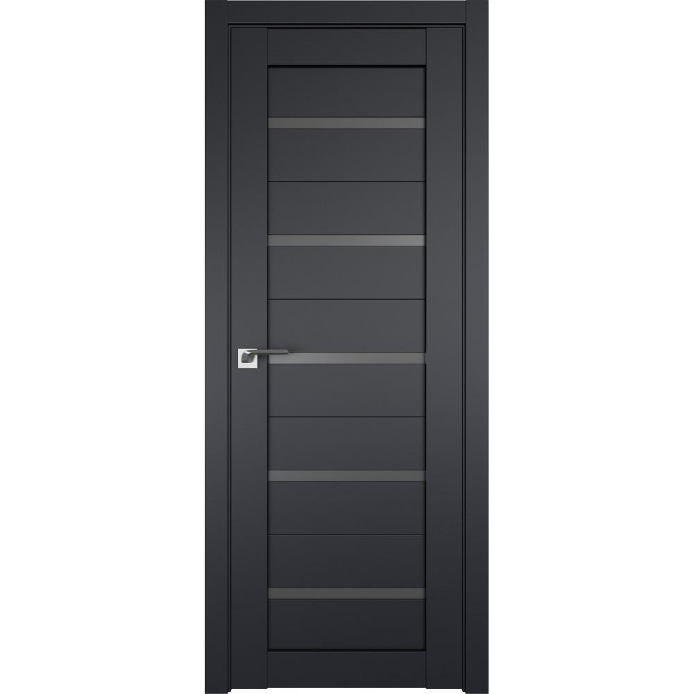 Дверь 7U Черный матовый