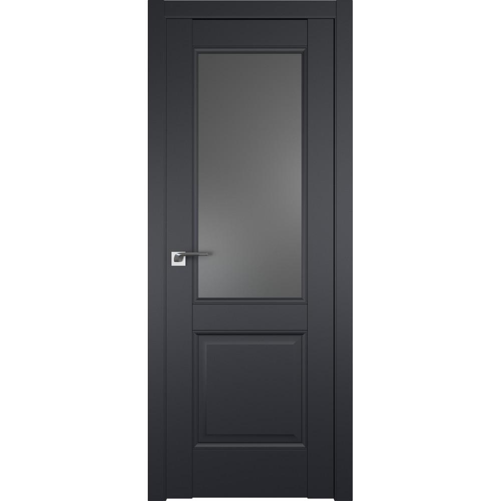 Дверь 90U Черный матовый