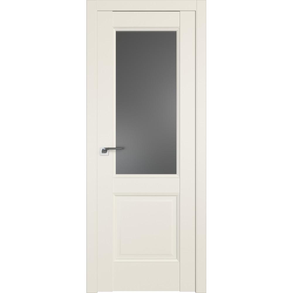 Дверь 90U Магнолия Сатинат