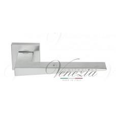 "Дверная ручка Venezia Unique ""PHILIP"" матовый хром"
