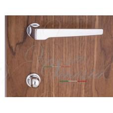"""Дверная ручка Venezia Unique """"SYDNEY"""" (серия SLIM) полированный хром"""